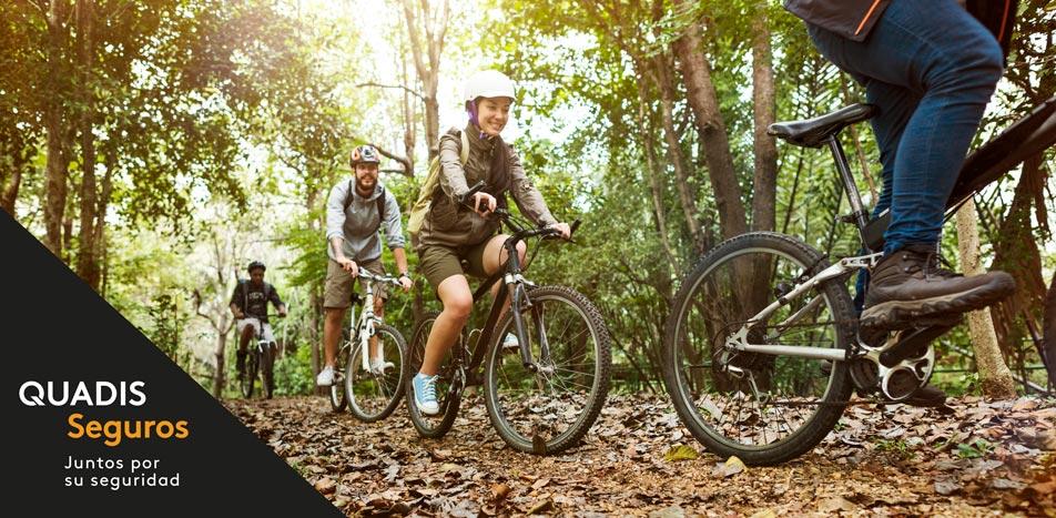Seguro bicicleta de montaña | Quadis Seguros